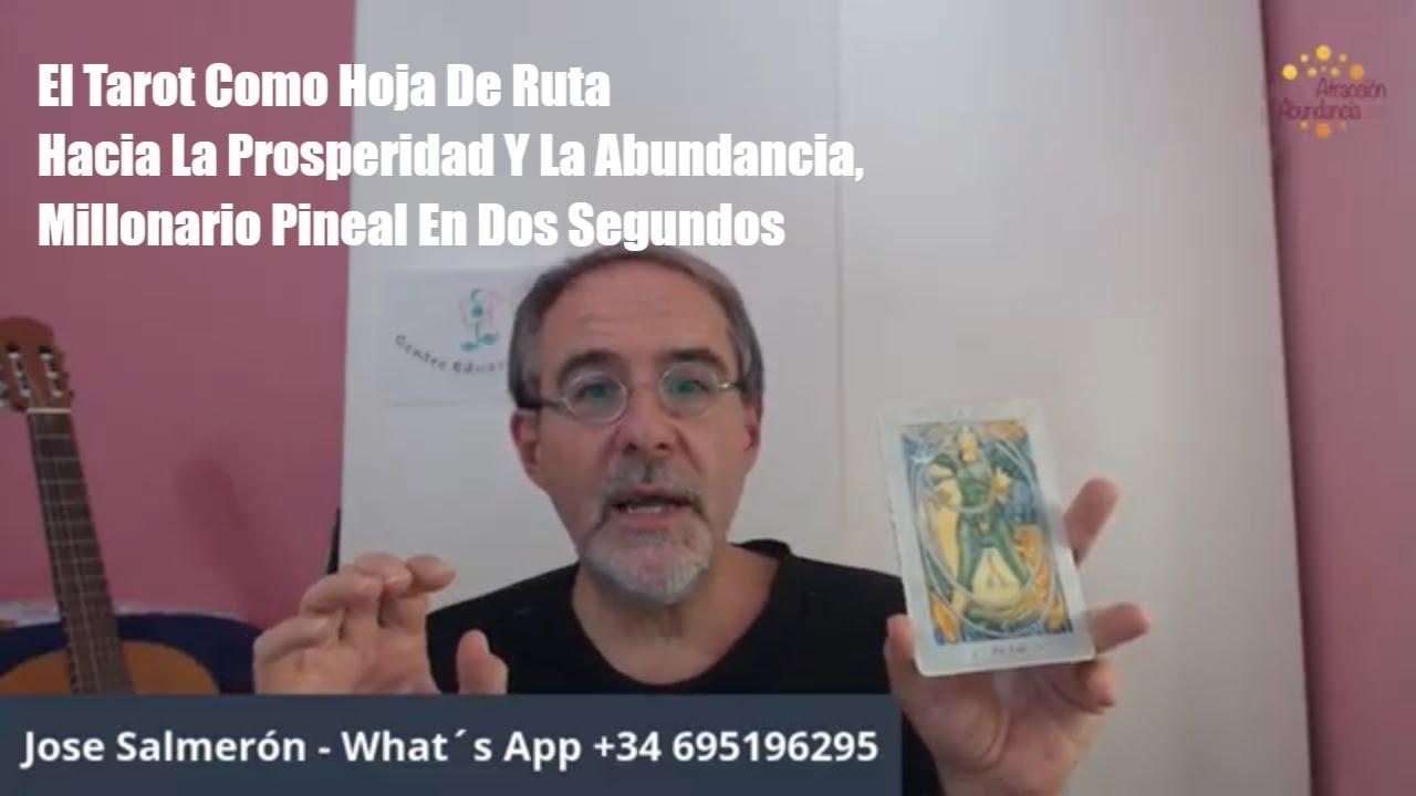 José Salmerón El Tarot Como Hoja De Ruta, Millonario Pineal En Dos Segundos