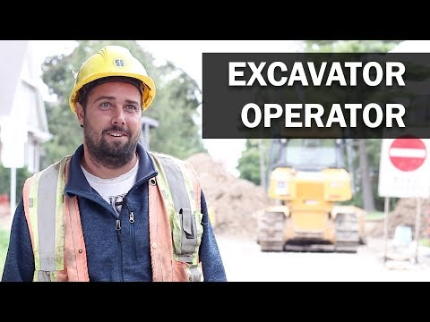 Job Talks - Excavator Operator - Brandon Talks About Several Aspects Of His Job