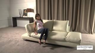 Кожаный диван Лугано - Santambrogio отдыха(http://www.bestitaliansofas.com/leather_sofas Лугано является диван, сделанный полностью на