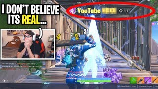 I spectated a player with YOUTUBE in his name and was SHOCKED! (I CAN