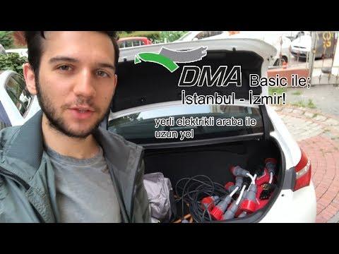 Yerli Elektrikli Araba ile Uzun Yol! DMA Basic ile İstanbul - İzmir [TeslaTurk]