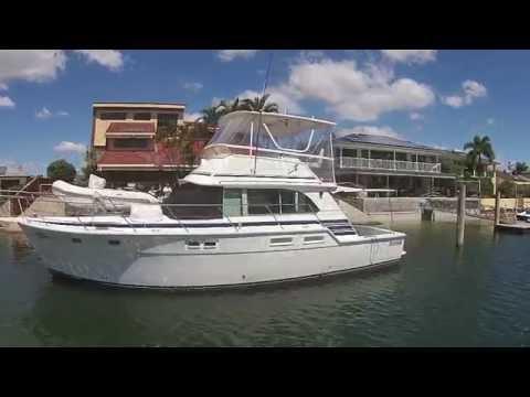 Bertram 42 Flybridge presented by Action Boating, boat sales, Gold Coast, Queensland, Australia