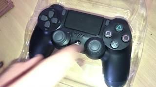Sony PlayStation 4 - DualShock 4 Wireless Controller, schwarz unboxing und Anleitung
