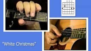Guitar Chords For Christmas Songs - White Christmas