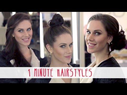 one-minute-hairstyles-|-cassandra-bankson
