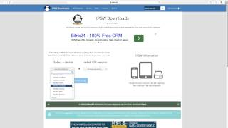 How to download Firmware iOS 6/7/8/9/Beta for Restore or Update[ All iPSW ]