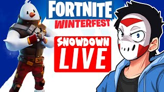 H2ODelirious' SNOWDOWN SHUFFLE STREAM VOD ON FORTNITE!