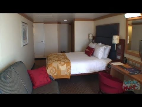 Tour a deluxe verandah state room on the disney dream cruise ship