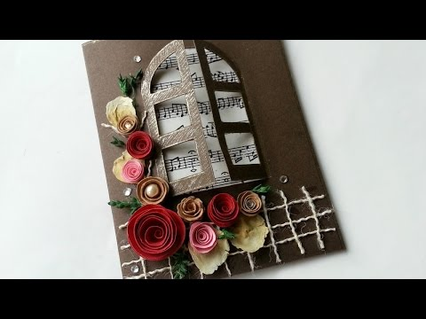 Create a Floral Musical Window Card - DIY Crafts - Guidecentral
