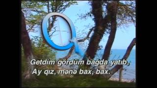 """Azeri Karaoke: """"Xumar oldum"""" Xalq Mahnısı"""