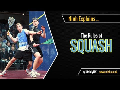 The Rules of Squash - EXPLAINED!
