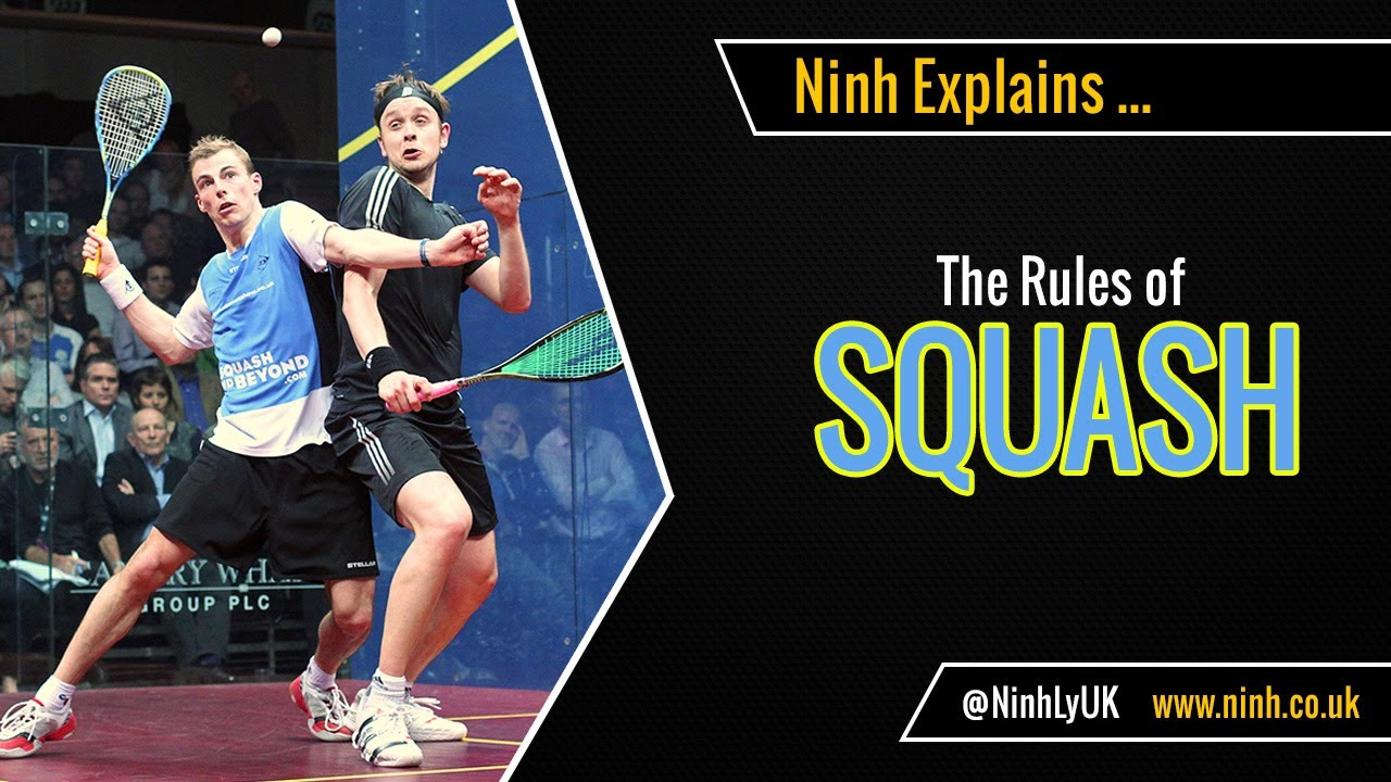 The Rules of Squash - EXPLAINED! - YouTube