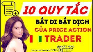 10 Quy Tắc Bất Di Bất Dịch Của Một Price Action Trader