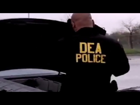 Undercover Ecstasy Drug Bust PART 5 (The DEA Busting Up A Crackhouse)