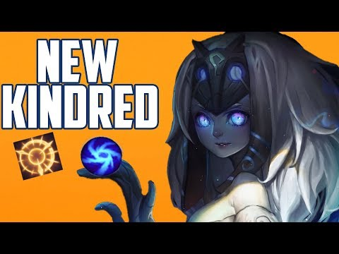 NEW KINDRED JUNGLE IS OP -  SEASON 8   (PRESS THE ATTACK)