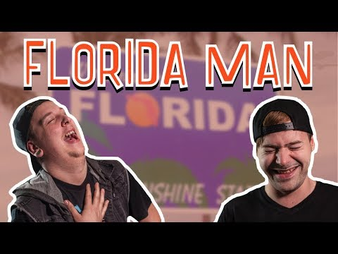 Insane Florida Man Headlines!