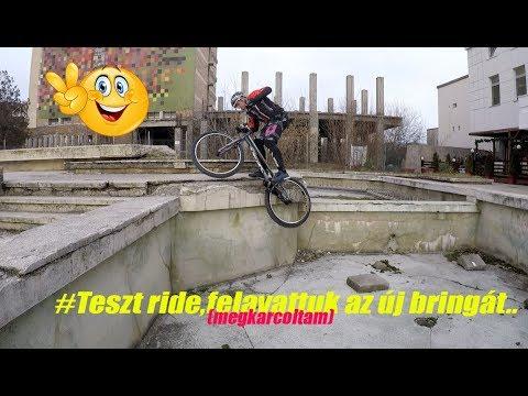 Teszt ride,felavattuk az új bringát #vlog122