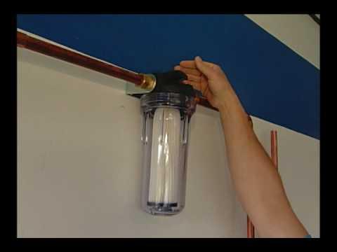 How To Change Your Whole House Water Filter Youtube