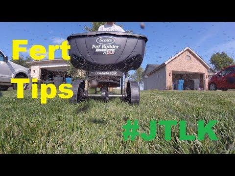 Lawn Fertilizing for Beginners + JTLK/LCN Reunion 2018