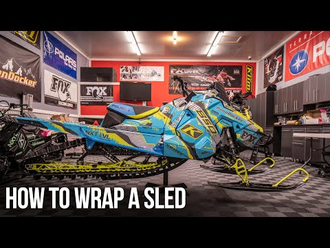 How To Wrap Your Snowmobile