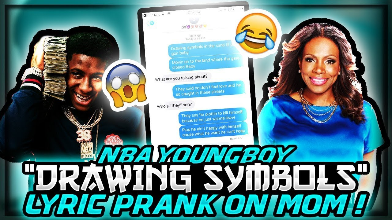 Nba Youngnoy Drawing Symbols Lyric Prank On Mom She Kicked Me Out