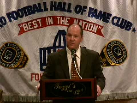 NFL Official John Parry @ Pro Football HOF Luncheon Club