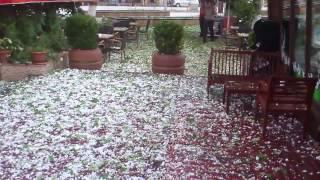 Gaziantepte dolu yağışı 1 - 10 mayıs 2013