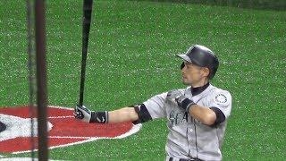 [MLB]イチロー 7年ぶり東京ドーム凱旋 全球ノーカット 3塁側から