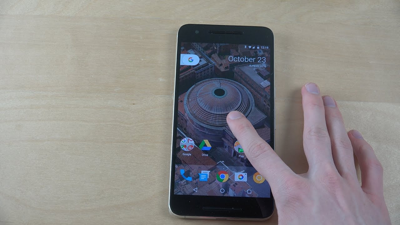 New Google Pixel Live Wallpapers Hands On View On Android 7 1 1