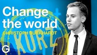 Wie Evolution die Welt verändert // Christoph Burkhardt (Ausschnitt)