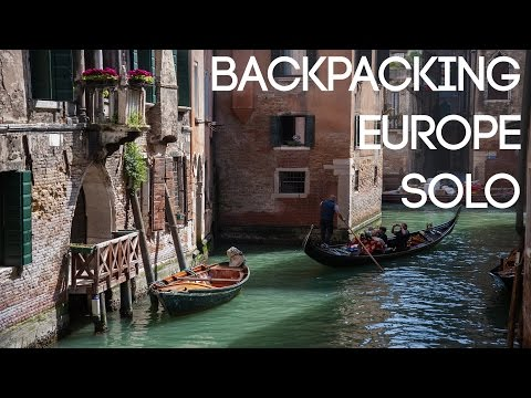 Solo Backpacking Europe Trip - 2015