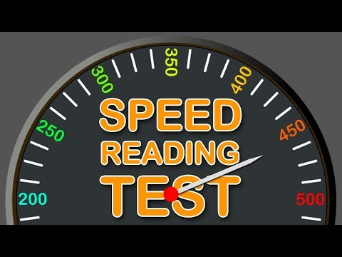 Speed Reading Test - How Fast You Can Read?