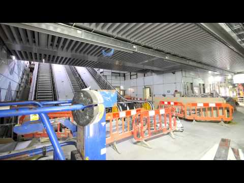 A new Tube entrance at Tottenham Court Road station - Tube improvements