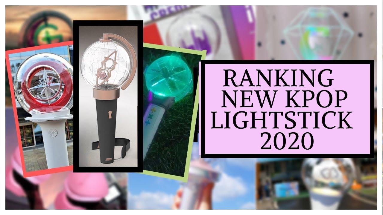 Ranking NEW KPOP LIGHTSTICK 2020 -ATEEZ, TxT, CIX, (G)-idle, Chungha! Most Beautiful Light-Stick!