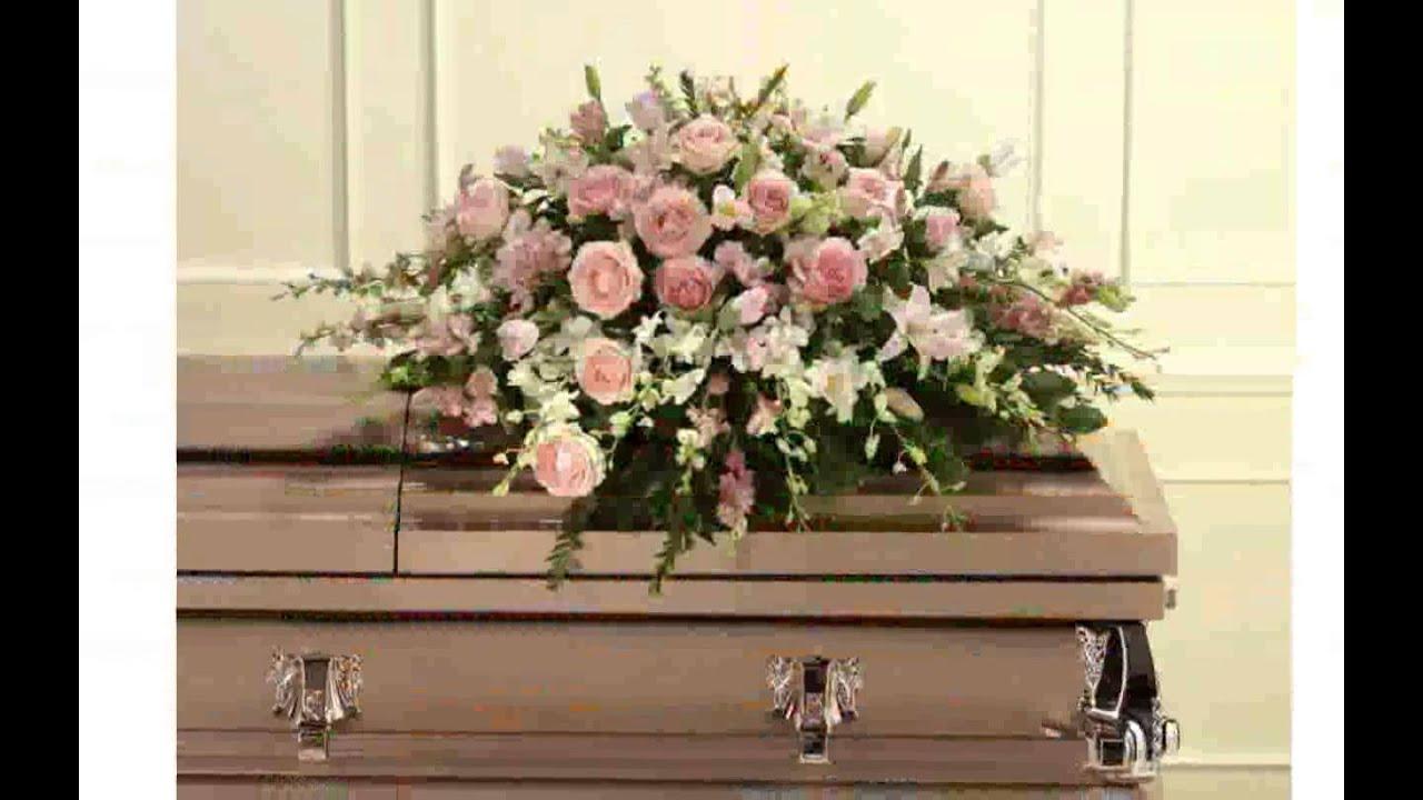 Casket Flower Arrangements Youtube
