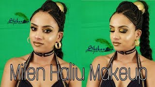 Milen Hailu Make Up for Music Video Asmara vlog  2018