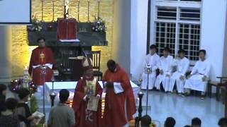麻坡圣安德肋天主教堂主保庆典 领证书仪式