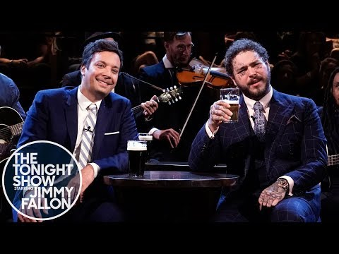 """post-malone-and-jimmy-sing-""""seven-drunken-nights"""""""