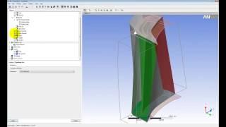 Видеоурок CADFEM VL1203 - Создание сеточной модели лопаточного венца в ANSYS TurboGrid