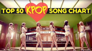 K-POP SONG CHART [TOP 50] AUGUST 2015 (WEEK 1)