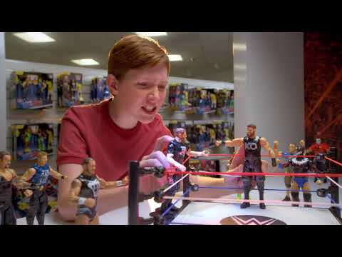 WWE Tough Talkers Total Tag Team Ring and Figures 2018 Commercial | WWE | Mattel Action!