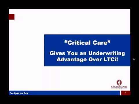 Critical Care - What Is It?  Presented by Tom Randall
