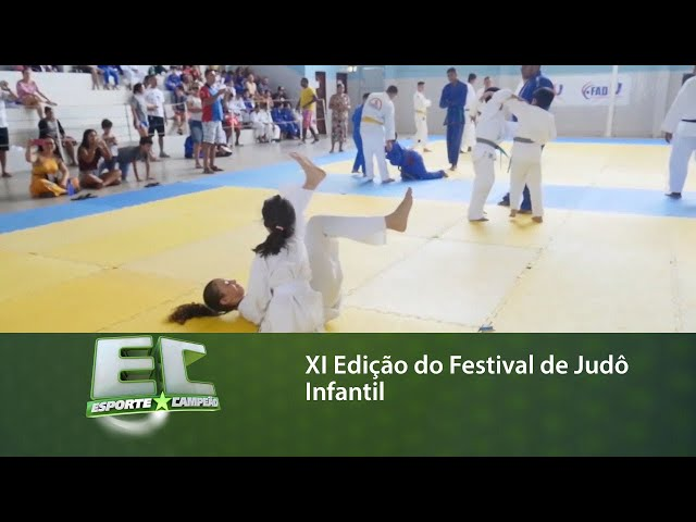 XI Edição do Festival de Judô Infantil