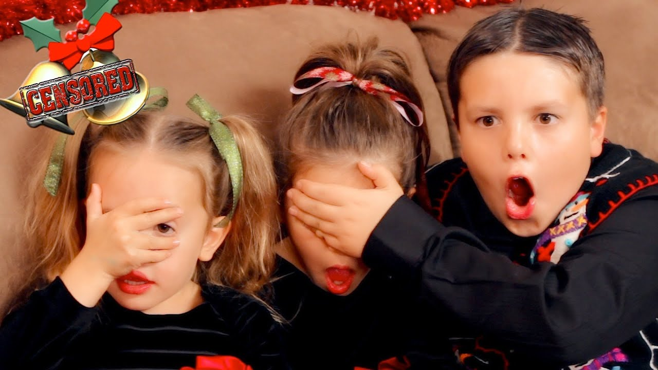 inappropriate jingle bells youtube - Shaytards Christmas