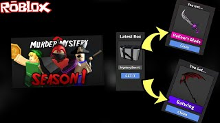 WELCOME TO MURDER MYSTERY 2 SEASON 1 *BRAND ALL NEW UPDATE* (ROBLOX MURDER MYSTERY 2 NEW CASE TOO )