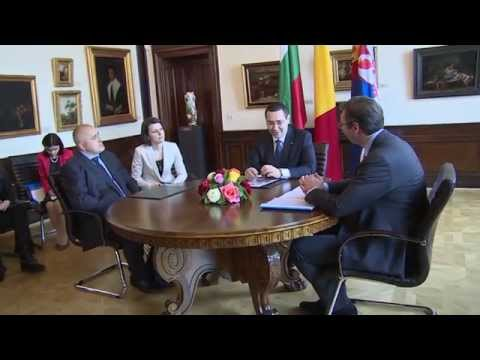 întrevederea trilaterală_Victor Ponta_Aleksandar Vučić_Boyko Borissov