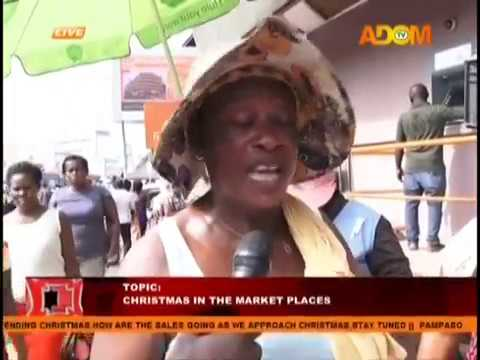 Christmas In The Market Places - Pampaso on Adom TV (11-12-18)