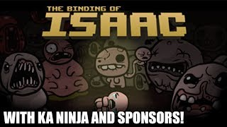 BINDING OF ISAAC WITH KANINJA (FULL STREAM)