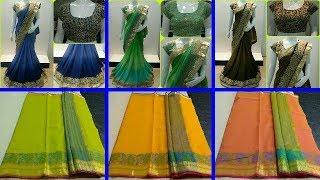 Latest Kalamkari Silk Sarees With Price | Designer Sarees | Sarees Latest | Fashion9tv|price:2050 /-