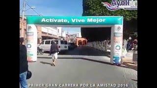 Ayotlán Jalisco, carrera por la amistad 2016
